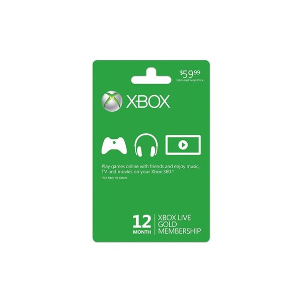 1 Año Xbox Live Gold | FRIX